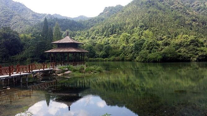 三江风景区徒步